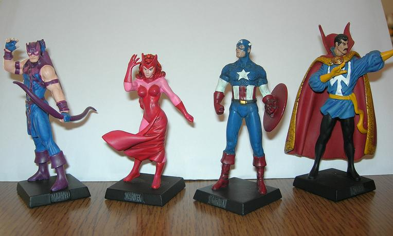Hawkeye  Scarlet Witch  Captain America  Dr.Strange